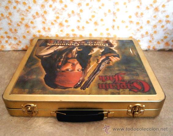 Juguetes Antiguos: Maleta chapa Piratas caribe maletin meta diorama 2007 - Foto 4 - 47128980