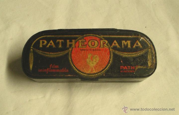 VISOR PATHEORAMA DE PATHÉ , METÁLICO EL PRIMER MODELO. AÑO 1900 (Juguetes - Pre-cine y Cine)
