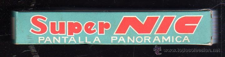 CINE SUPER NIC. PANTALLA PANORAMICA. Nº 616. SERIE DISNEYLAND. 2º PARTE. LA DAMA Y EL VAGABUNDO (Juguetes - Pre-cine y Cine)