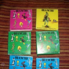 Juguetes Antiguos: LOTE DE 6 PELICULAS PARA CINEMAX BIANCHI SUPER 8.. Lote 149697744