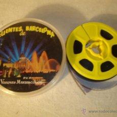 Juguetes Antiguos: ANTIGUA PELICULA SUPER 8 MM FUENTES DE BARCELONA VISIONES MARBISCOLOR. Lote 50173243