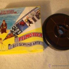 Juguetes Antiguos: ANTIGUA PELICULA SUPER 8 MM VISIONES MARBISCOLOR FILMOTECA 7º ARTE LOS NOVIOS DEL KUNFU. Lote 50173249