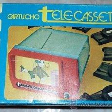 Juguetes Antiguos: CARTUCHO TELE-CASSETTE Nº6 CAJA AZUL DE PACTRA. Lote 50475557