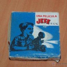 Juguetes Antiguos: PELICULA PROYECTOR JEFE 9 1/2 MM Nº80 FUTBOL. MADRID 2 ATLETICO DE MADRID 1. 10 METROS. Lote 50703021