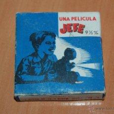 Juguetes Antiguos: PELICULA PROYECTOR JEFE 9 1/2 MM Nº73 INVENCION DEL CINEMATOGRAFO POR LUMIERE. 7 METROS. Lote 50703108