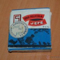 Juguetes Antiguos: PELICULA PROYECTOR JEFE 9 1/2 MM Nº70 CORRIDA BIENVENIDA LITRI. 10 METROS. Lote 50703162