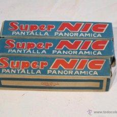 Juguetes Antiguos: SUPER NIC: MIAU BOMBERO + 2 CAJAS VACÍAS (LA MONA Y EL PEREZOSO). Lote 51171780