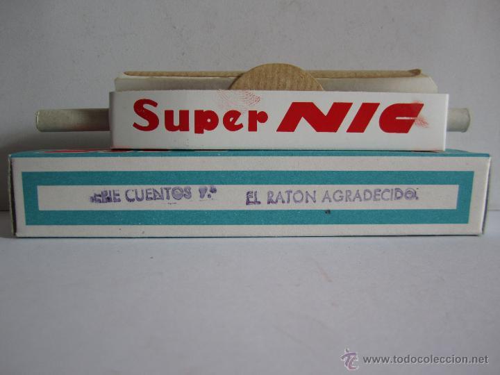 ANTIGUA PELÍCULA SUPER NIC EL RATÓN AGRADECIDO SERIE 9 CUENTOS Nº 577 . (Juguetes - Pre-cine y Cine)