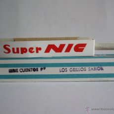 Juguetes Antiguos: ANTIGUA PELÍCULA SUPER NIC LOS GRILLOS SABIOS SERIE 9 CUENTOS Nº 576 .. Lote 53124857