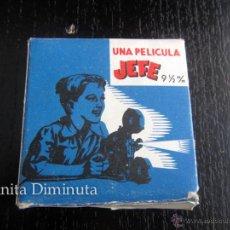 Juguetes Antiguos: ANTIGUA PELICULA PARA EL PROYECTOR JEFE NUMERO 66 9,5 M/M - 16 MTS - EL RECLUTA DONALD - MICKEY . Lote 53450523