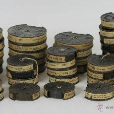 Juguetes Antiguos: PATHE BABY. COLECCION DE 20 PELICULAS EN 45 ROLLOS. 9,5 MM. CIRCA 1920. . Lote 54798234
