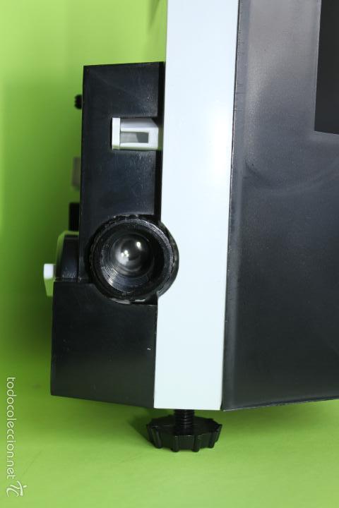 Juguetes Antiguos: PROYECTOR 8 SUPER 8 BIANCHI CINE MAX K6 FUNCIONANDO - Foto 3 - 56300321