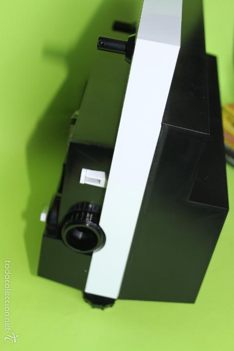 Juguetes Antiguos: PROYECTOR 8 SUPER 8 BIANCHI CINE MAX K6 FUNCIONANDO - Foto 4 - 56300321