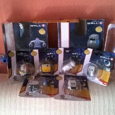 Juguetes Antiguos: WALL-E LOTE 9 PIEZAS,5 SUELTAS, 2 DOBLES DISNEY PIXAR COLECCIÓN POR COMPLETAR. Lote 56576163
