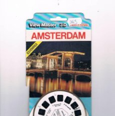 Juguetes Antiguos: VIEW MASTER 3D AMSTERDAM ANTIGUO. Lote 56942500