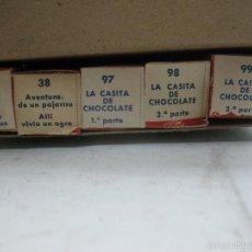 Juguetes Antiguos: PAYA - ANTIGUA CAJA DE 5 PELÍCULAS DE LOS AÑOS 50. Lote 57084783