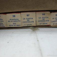 Juguetes Antiguos: PAYA - ANTIGUA CAJA DE 5 PELÍCULAS DE LOS AÑOS 50. Lote 57084790