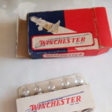 Juguetes Antiguos: 10 BOMBILLAS LAMPARA WINCHESTER. Lote 57254371