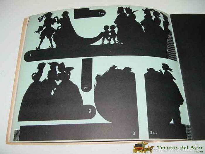 Juguetes Antiguos: ANTIGUO TEATRILLO DE JUGUETE DE SOMBRAS CHINESCAS - THEATRE D´OMBRES DU PERE CASTOR - PRE CINE - OMB - Foto 2 - 38246600