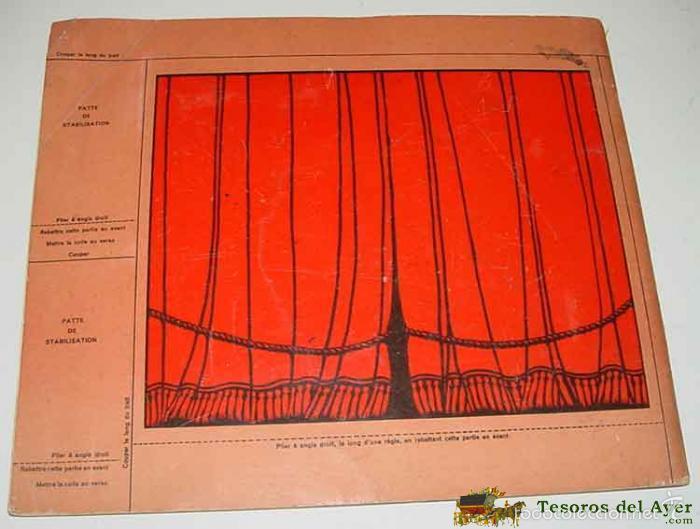 Juguetes Antiguos: ANTIGUO TEATRILLO DE JUGUETE DE SOMBRAS CHINESCAS - THEATRE D´OMBRES DU PERE CASTOR - PRE CINE - OMB - Foto 4 - 38246600