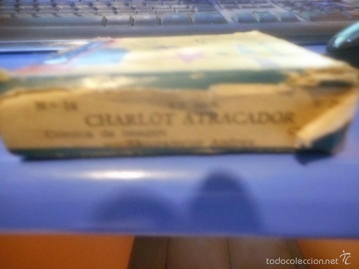 Juguetes Antiguos: pelicula proyector jefe charlot atracador - Foto 2 - 58227447
