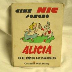 Juguetes Antiguos - Alicia en el País de las Maravillas, Walt Disney, Cine Nic Sonoro caja con 6 películas - 58404143