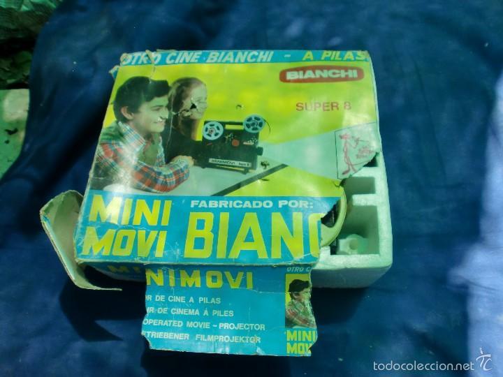 PROYECTOR BIANCHI SUPER 8 (Juguetes - Pre-cine y Cine)