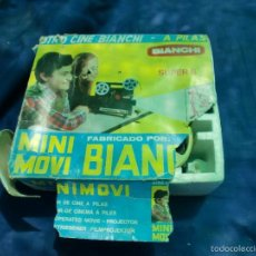Juguetes Antiguos: PROYECTOR BIANCHI SUPER 8. Lote 58496960