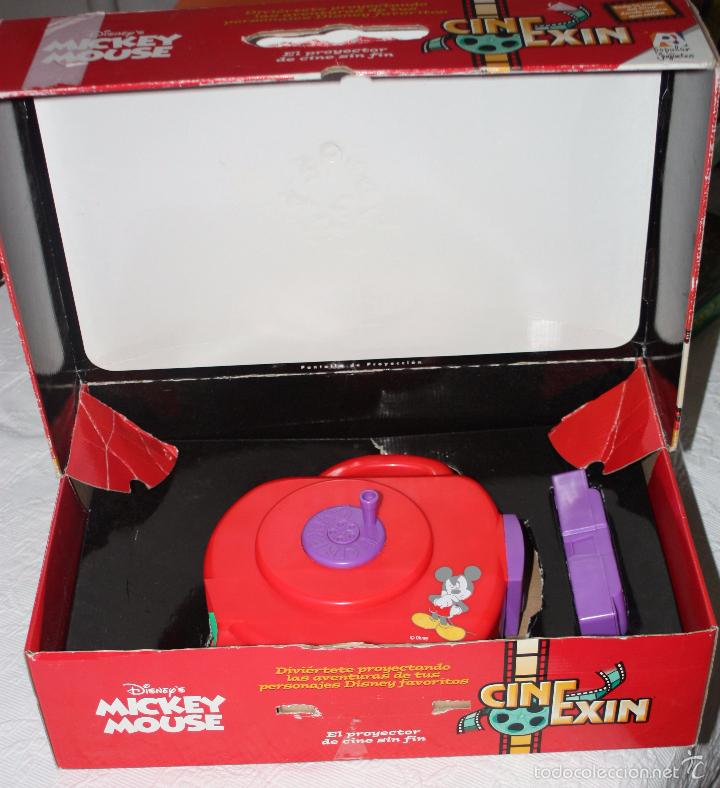 Juguetes Antiguos: CINE EXIN : PROYECTOR PDJ + DOS PELICULAS en su caja - Foto 2 - 146048350