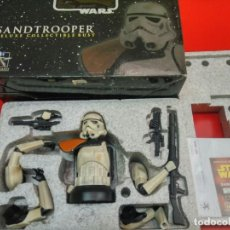 Juguetes Antiguos: SANDTROOPER DELUXE COLLECTIBLE BUST. STAR WARS. BUSTO. GENTLE GIANT. Lote 68482469