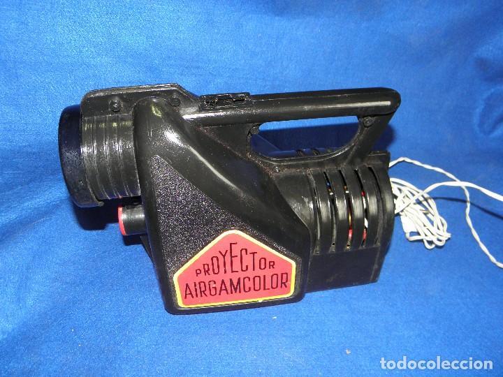 Juguetes Antiguos: PROYECTOR AIRGAMCOLOR DE AIRGAM - PARA PIEZAS O RESTAURAR - Foto 3 - 74609395