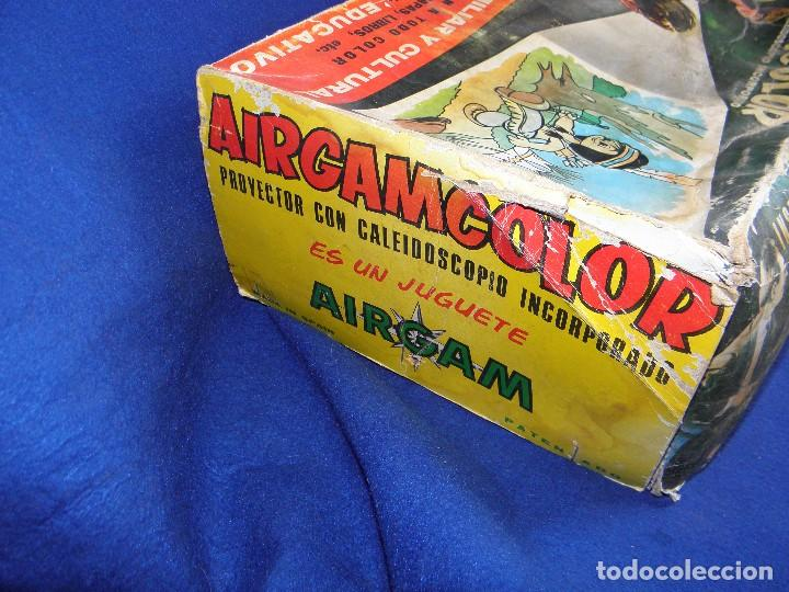 Juguetes Antiguos: PROYECTOR AIRGAMCOLOR DE AIRGAM - PARA PIEZAS O RESTAURAR - Foto 11 - 74609395