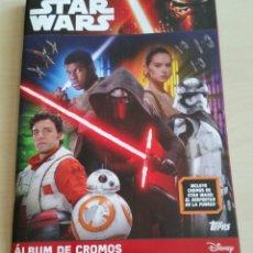 Juguetes Antiguos: STAR WARS ÁLBUM DE CROMOS. Lote 76584469