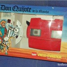 Juguetes Antiguos: PACK VIEW - MASTER - DON QUIJOTE DE LA MANCHA - CON LOS 3 DISCOS Y EL LIBRETO EXPLICATIVO - 1979 NEW. Lote 85063916
