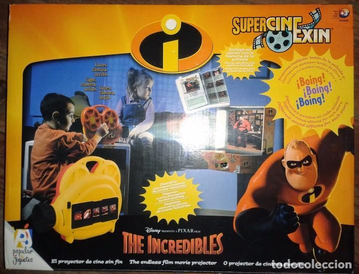 SUPER CINEXIN CINE EXIN DISNEY LOS INCREIBLES PDJ POPULAR DE JUGUETES (Juguetes - Pre-cine y Cine)