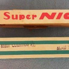 Juguetes Antiguos: PELICULA DE SUPER NIC Nº 566 SERIE CUENTOS MIAU TENOR ORIGINAL EN MUY BUEN ESTADO. Lote 89585208