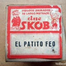 Juguetes Antiguos: CINE, ANTIGUA PELICULA DIBUJOS ANIMADOS, CINE SKOB - EL PATITO FEO. Lote 89685024