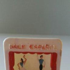 Juguetes Antiguos: ANTIGUO TEATRILLO BAILE ESPAÑOL EN MOVIMIENTO MEDIANTE RUEDECILLA . Lote 91649123
