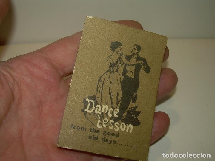 Juguetes Antiguos: ANTIGUO JUEGO DE IMAGENES QUE AL PASARLAS SE MUEVEN....DANCE LESSON. - Foto 9 - 94558435