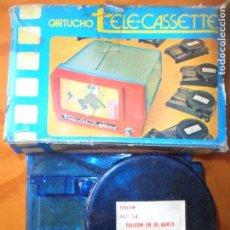 Juguetes Antiguos: CARTUCHO TELE-CASSETTE PACTRA - CINE PRE-CINE -. Lote 95895187