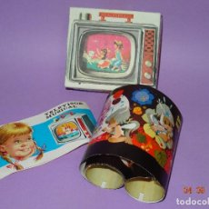 Juguetes Antiguos: ANTIGUO PELÍCULA FANTASIA INFANTIL DE CINE TELEVISOR MUSICAL HEDI - AÑO 1970S. EN CAJA ORIGINAL. Lote 97186631