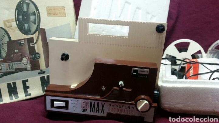 Juguetes Antiguos: CINE MAX K6 PROYECTOR 8+SUPER 8 AUTOMATIC - Foto 2 - 98436928