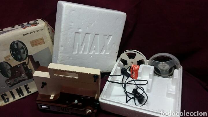 Juguetes Antiguos: CINE MAX K6 PROYECTOR 8+SUPER 8 AUTOMATIC - Foto 3 - 98436928