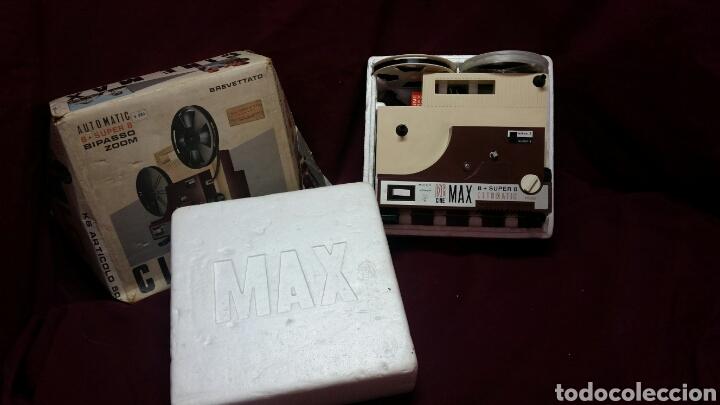 Juguetes Antiguos: CINE MAX K6 PROYECTOR 8+SUPER 8 AUTOMATIC - Foto 4 - 98436928