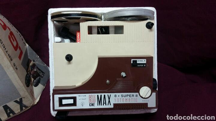 Juguetes Antiguos: CINE MAX K6 PROYECTOR 8+SUPER 8 AUTOMATIC - Foto 5 - 98436928