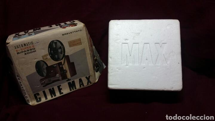 Juguetes Antiguos: CINE MAX K6 PROYECTOR 8+SUPER 8 AUTOMATIC - Foto 6 - 98436928