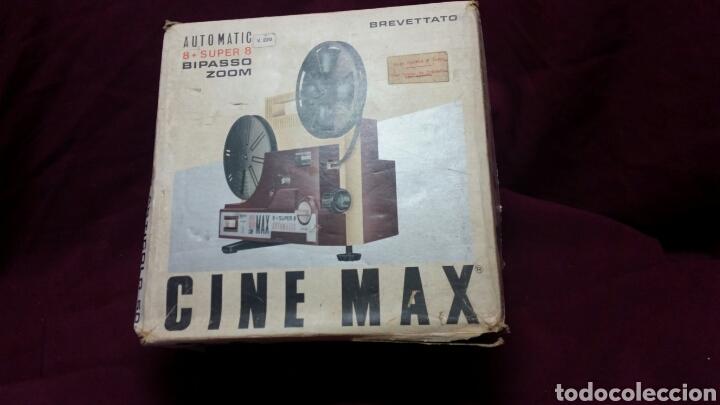 Juguetes Antiguos: CINE MAX K6 PROYECTOR 8+SUPER 8 AUTOMATIC - Foto 7 - 98436928
