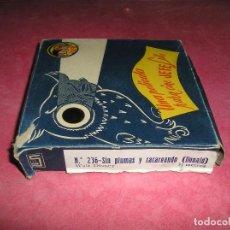 Juguetes Antiguos: PELÍCULA PROYECTOR JEFE LUX 9,5 MM MÁS DE 20 METROS LA DE LA FOTO CON CAJA. Lote 99347595