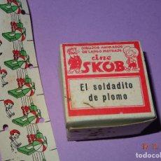 Juguetes Antiguos: ANTIGUA PELICULA * EL SOLDADITO DE PLOMO* DEL CINE SKOB - DIBUJANTE ESCOBAR. Lote 105856491