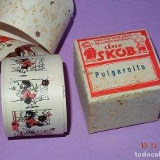 Juguetes Antiguos: ANTIGUA PELICULA *PULGARCITO* DEL CINE SKOB - DIBUJANTE ESCOBAR. Lote 105856551